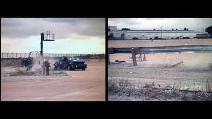 Midwest Guardrail System (Crash Test)