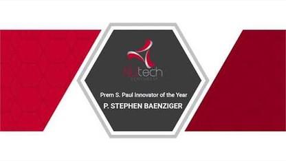 Prem Paul Innovator of the Year – P. Stephen Baenziger
