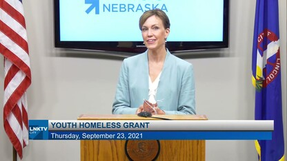 News Conference: Youth Homeless Grant