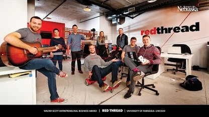 Walter Scott Entrepreneurial Business Award 2017: Red Thread Creative