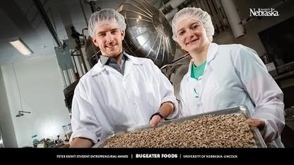 Peter Kiewit Student Entrepreneurial Award 2017: Bugeater Foods