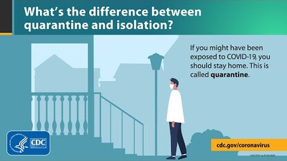 What's the difference between quarantine and isolation?
