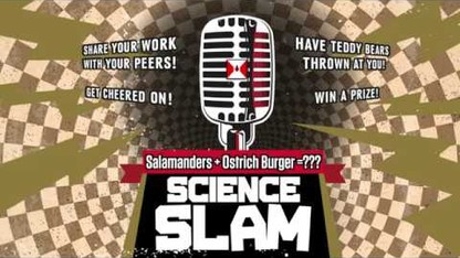 Science Slam | Salamanders+Ostrich Burger=???