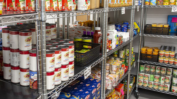 Husker Pantry (City Campus) and Maverick Food Pantry (Scott Campus) rely on donations to keep shelves stocked.