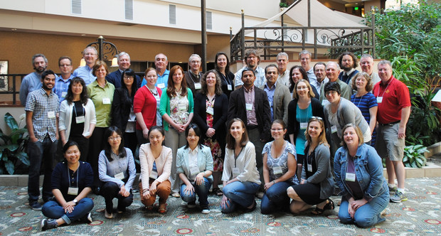 Co-investigators and collaborators gathered for an annual meeting of the Useful to Usable project.