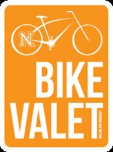 Bike UNL's bike valet logo