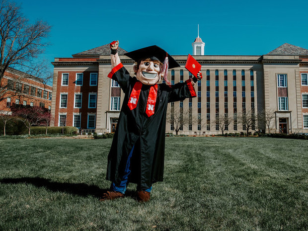Go Big Grad: A Husker Graduation Celebration will stream at 9 a.m. May 9, 2020.