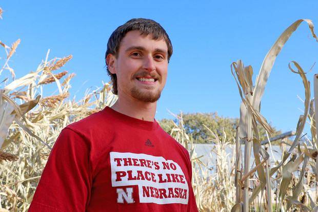 Justin Zoucha (Photo by Lana Koepke Johnson | Agronomy and Horticulture)
