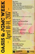 OASIS & JGMC Week 2017