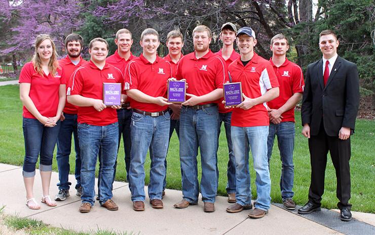 University of Nebraska–Lincoln Crops Judging Team