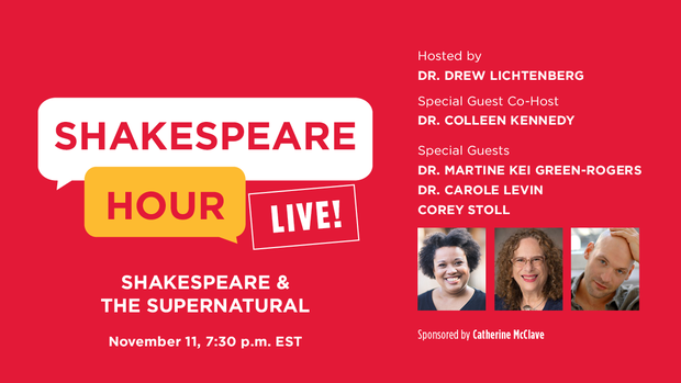 Carole Levin guest on Shakespeare Live