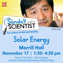Sunday with a Scientist: Solar Energy