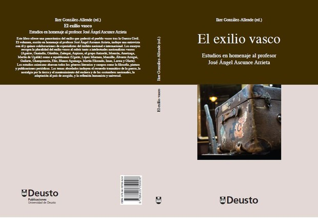 Cover of the edited volume I recently published