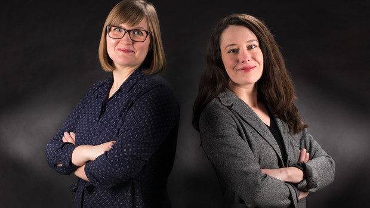 Emily Kazyak and Kelsy Burke