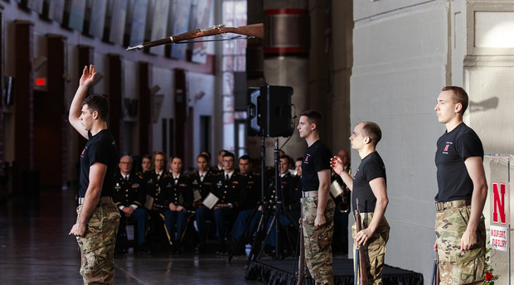 Veterans Day Pershing Rifles