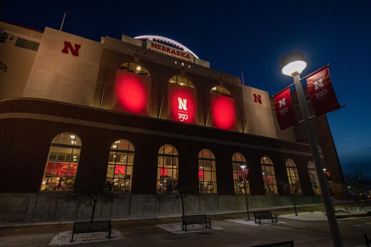 Memorial Stadium.