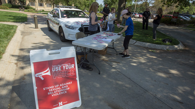 The Cover the Cruiser events continue Sept. 12 and 13. Both events are 10:30 a.m. to 2 p.m. on the Nebraska Union Plaza.