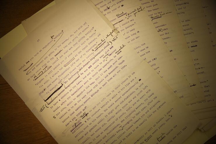 Cather manuscript