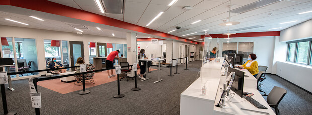 The Husker Hub has moved into its new home in Canfield Administration Building. It is one-stop shop to help students efficiently handle campus-related business.