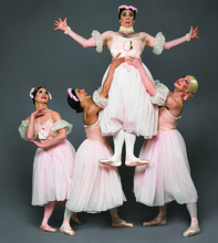 The Trocks perform the full range of the ballet and modern dance repertoire, including classical and original works