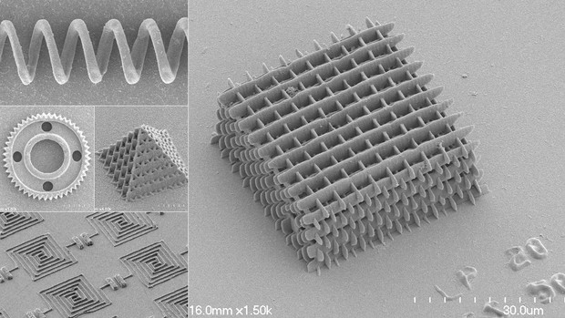 A team of UNL engineers has demonstrated a new technique for embedding carbon nanotubes in microscopic structures that could bolster the conductivity and strength of polymer-based technology. The engineers used high-intensity laser pulses to sculpt resins into structures no wider than a human hair.