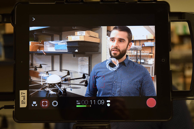 Leonardo Bastos, a soil and water sciences doctoral student at Nebraska, is interviewed about his research for a Streaming Science production.
