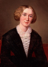 Mary Ann Evans, known by her pen name George Eliot, was one of Victorian England's bestselling authors.