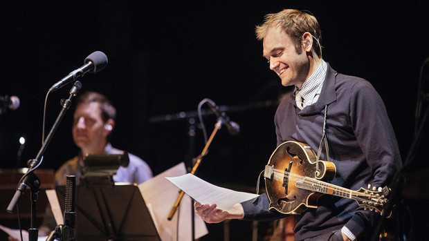 "Grammy Award-winning musician Chris Thile is the host of ""Live from Here."""