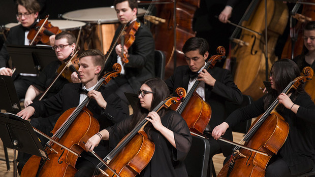 "The UNL Symphony Orchestra will perform during ""A Celebration of Music and Milestone, N150"" on Feb. 15."