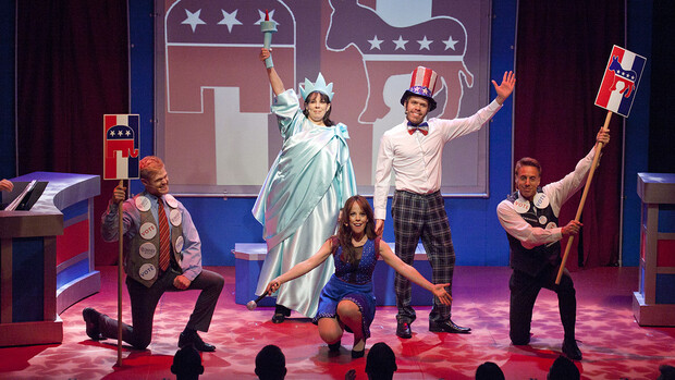"""The Lied Center will host """"NEWSical the Musical"""" at 3 and 7:30 p.m. Sept. 26. Ticket holders to either of the canceled performances of The Capitol Steps will automatically have their tickets honored at """"NEWSical the Musical."""""""
