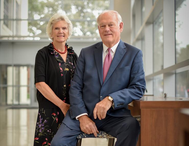 Georgia and Jim Thompson