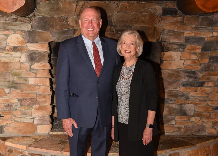Steve and Jennifer David