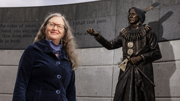 Margaret Jacobs, Chancellor's Professor of History and director of the Center for Great Plains Studies, has been awarded an Outstanding Research and Creativity Award from the University of Nebraska.