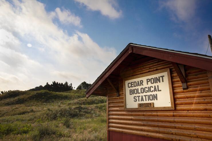 Cedar Point is on the edge of the Nebraska Sandhills.