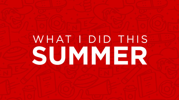 What I Did This Summer graphic