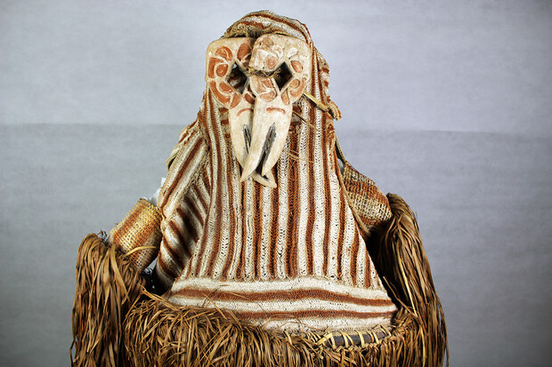 Ceremonial dance mask from the Oceania collection