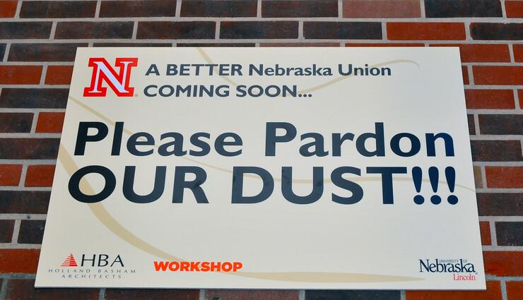 Nebraska Union signage