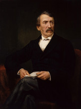 A posthumous portrait of David Livingstone by Frederick Havill.