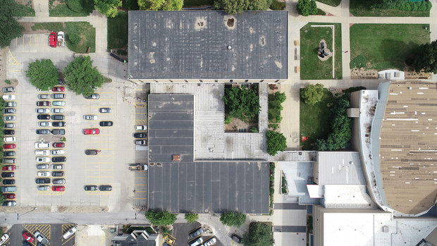 Drone roof picture