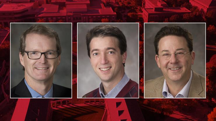 (From left) Matthew Dwyer, Sebastian Elbuam and Gregg Rothermel