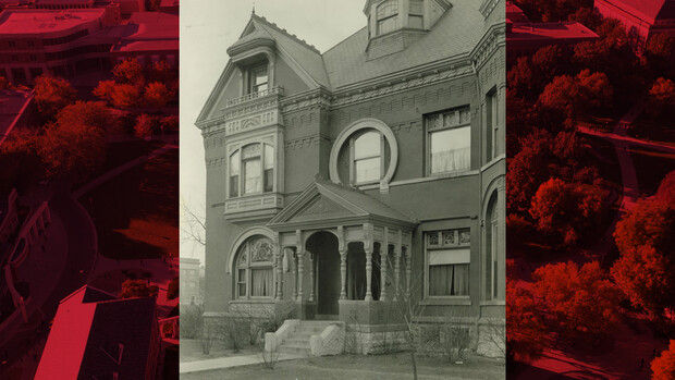 The first Ellen Smith Hall, located on the corner of 14th and R streets, near the Canfield Administration Building today, was first used as a women's building. The building was demolished in 1958. Smith was honored again with the naming of Smith Residence Hall.