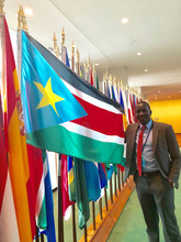 Gat Ramdiet, College of Law, at the United Nations