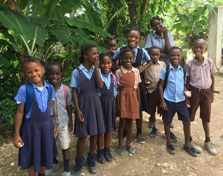 School in Haiti