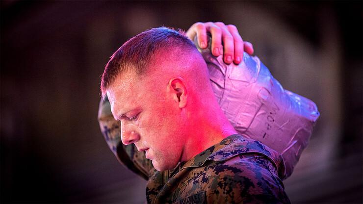 Marine shouldering weight