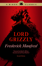 "Cover of the University of Nebraska Press book ""Lord Grizzly."""