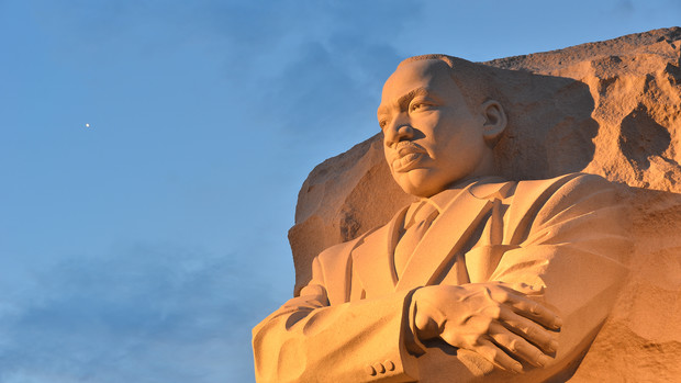 The University of Nebraska–Lincoln will celebrate the legacy of Martin Luther King Jr., who is shown here in a memorial in Washington, D.C., during the week of Jan. 21.