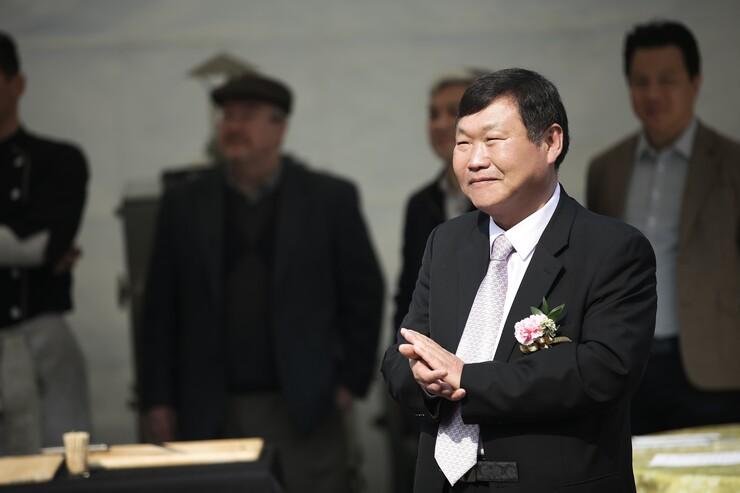 Seungho Shin, chairman of Sunseo Omega 3