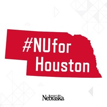 NU for Houston graphic