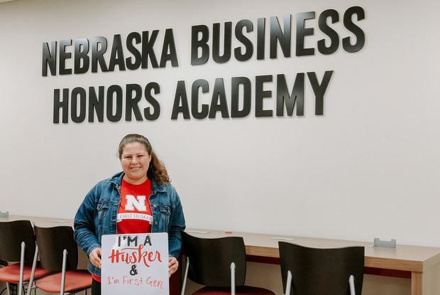 Natalia Koval is now in her second year at Nebraska. She is a double major in actuarial science and mathematics and works in the university's First-Year Experience and Transition program.