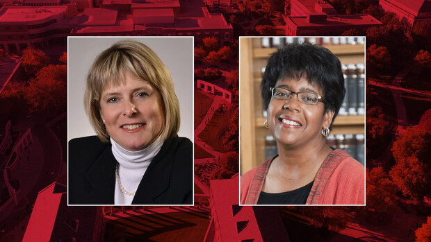Nebraska's Susan Swearer (left) and Catherine Lee Wilson are leading the review of the university's bias protocols. Swearer